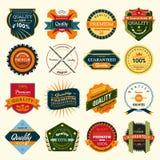 Badges stock illustration