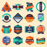 Badges Stock Image