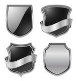 Badges. Shields icon -  web design element Stock Image