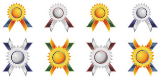 Badges tags Royalty Free Stock Images