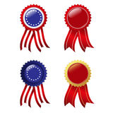 Badges Royalty Free Stock Images