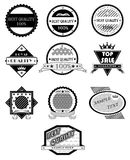 Badges vector set Stock Images