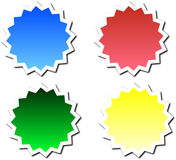 Badges Vector Royalty Free Stock Image