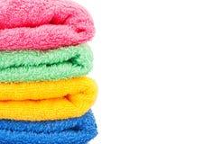 Badhanddoeken stock foto