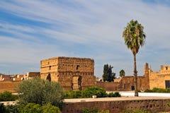 badi el宫殿palais 图库摄影
