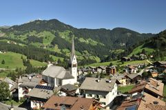 Badia, Alta Badia, Dolomiten, Italia Fotografie Stock Libere da Diritti