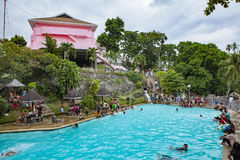Badiang Spring Resort Swimming Pool Stock Photos