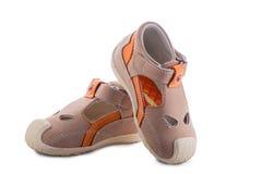Badine des chaussures de ` Photos libres de droits