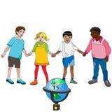Badine l'éducation Images libres de droits