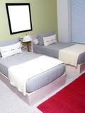 Badine la chambre à coucher Photo stock