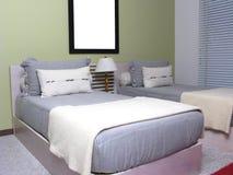 Badine la chambre à coucher Images stock