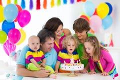 Badine la fête d'anniversaire Photographie stock