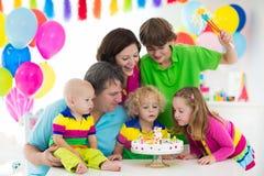 Badine la fête d'anniversaire Image libre de droits