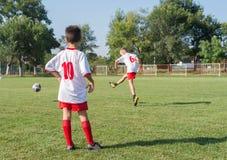 Badine le football Image stock