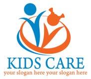 Badine le logo Images stock