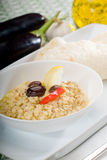 Badingian mutabbal Baba Ghanoush Royalty Free Stock Photography