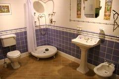 Badkamers 3 stock afbeeldingen