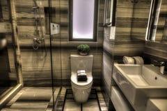 Badkamers in hdreffect stock afbeelding