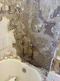 Badkamers onder vernieuwing Royalty-vrije Stock Afbeelding