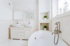 Badkamershoogtepunt van zonlicht stock fotografie