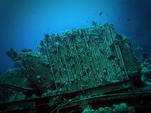 Badkar från Yolanda skeppsbrott Arkivfoton