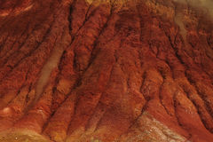 Badland terrain. Colorful badland terrain in central Oregon desert, USA Stock Photo