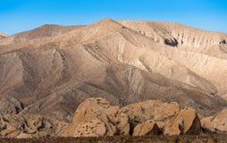 Badlands κοντά στις ανοίξεις Borrego στην έρημο της Καλιφόρνιας Στοκ εικόνες με δικαίωμα ελεύθερης χρήσης