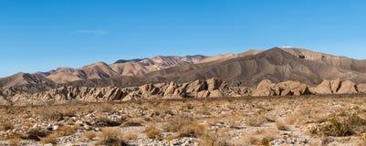 Badlands κοντά στις ανοίξεις Borrego στην έρημο της Καλιφόρνιας Στοκ φωτογραφίες με δικαίωμα ελεύθερης χρήσης
