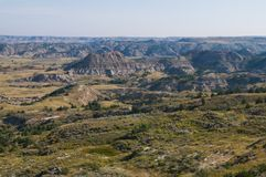 badlands Fotografia Stock