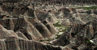 Badlands. National Park, South Dakota, panorama Royalty Free Stock Image