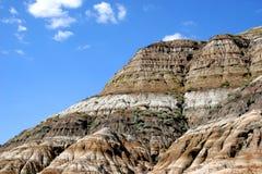 Badlands 2 de Alberta Foto de archivo