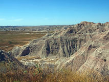 Badlands Royalty Free Stock Photos