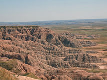 badlands Fotografia Royalty Free