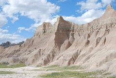 Badlands. Taken in Badlands National Park Stock Photography