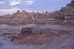 The Badlands Stock Image