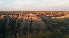 badlands Foto de Stock Royalty Free