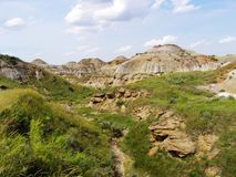 badlands Royaltyfria Bilder