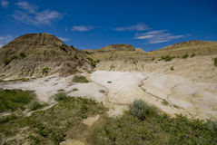 badlands Arkivfoto