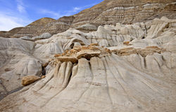 Badlands Alberta stock afbeeldingen