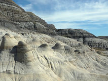 Badlands Alberta Stock Image