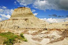 Badlands in Alberta, Canada Stock Image