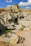 Badlands in Alberta, Canada Stock Photos