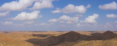 Badlands, arid landscape in Matmata. Tunisia Royalty Free Stock Photo