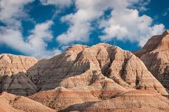 Badlands av South Dakota royaltyfria foton