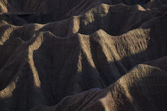 Badlands, Bardenas reales Royalty Free Stock Images