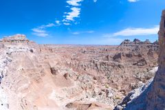 Badlands Barren Landscapes Royalty Free Stock Photography