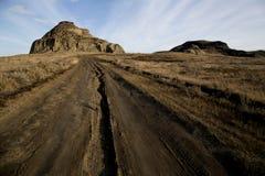 Badlands Canada Saskatchewan Stock Image