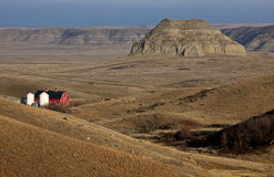 Badlands Canada Saskatchewan Royalty Free Stock Image