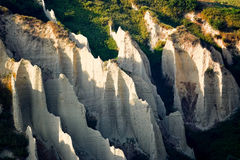Badlands in Chieti province (Italy) Stock Images