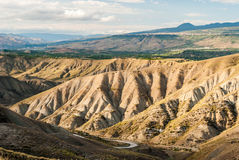 Badlands in the countryside of Sicily, near Biancavilla Royalty Free Stock Image